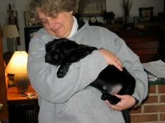 Puppy Kenya with Momma Joan