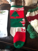The stocking DMIL made for me in 1982, side view